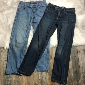 Old Navy Boys Jean Lot Size 10 Straight